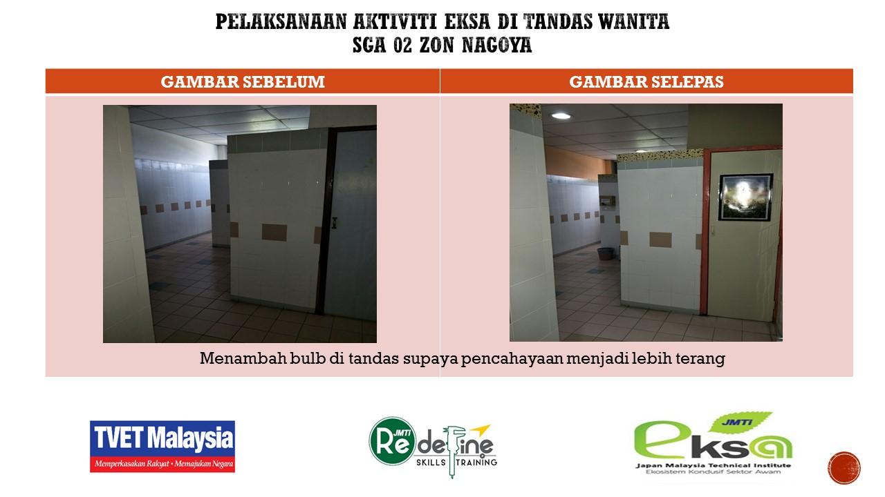 CABARAN TANDAS ZON NAGOYA TKK 03